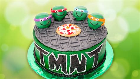 teenage mutant ninja turtles cake  cookies cupcakes