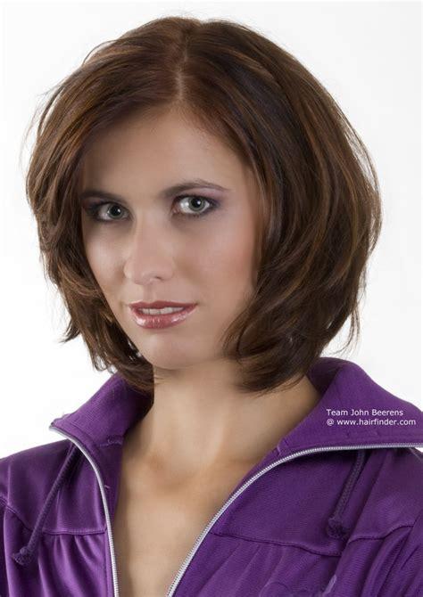 maintenance neck length haircut  active women