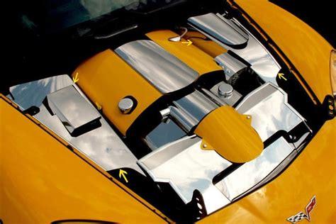 corvette cover  fender polished stainless steel