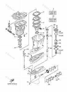 Yamaha Outboard Parts By Hp 150hp Oem Parts Diagram For Repair Kit 2