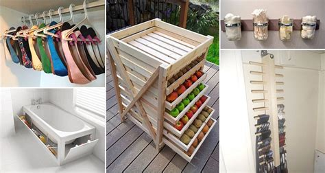 Storage Ideas by 18 Creative Storage Ideas You Can Do Yourself