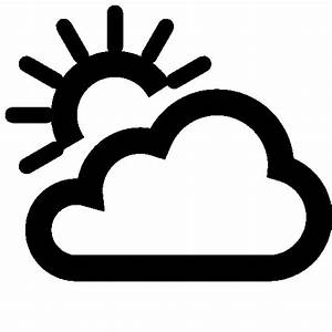 Weather Partly Cloudy Day Icon | Windows 8 Iconset | Icons8