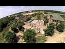 Raw Aerial Video of the historic Hot Wells Hotel ruin in ...