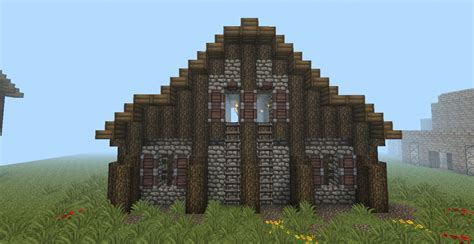 How To Build A Minecraft Barn by Barn Minecraft Project