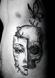 Tattoo Leben Und Tod : 50 leben tod tattoo designs f r m nner masculine ink ideen ~ Frokenaadalensverden.com Haus und Dekorationen