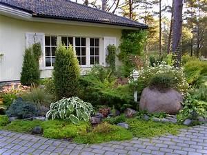 Landscaping: Home Garden Design In Cottage Design Home