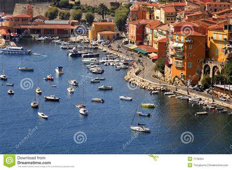 port de villefranche sur mer cote d azur o du sud photo stock image 7178404