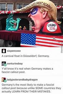 Make Fascism Great Again by crow13 - Meme Center