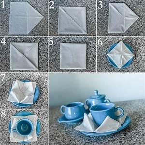 Servietten Falten Tischdeko : papierservietten falten anleitung festliche tischedeko kreieren ~ Markanthonyermac.com Haus und Dekorationen
