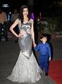 Divya Khosla Stills at Tulsi Kumar's Marriage Reception Photos