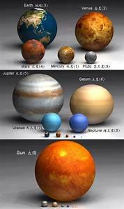 防災&日文&電腦&筆記: 八大行星資料表