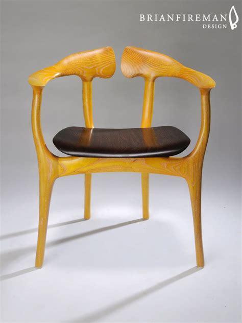 brian fireman design swallowtail chair shown