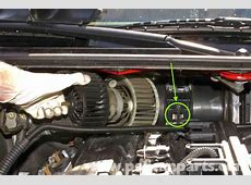 BMW E46 Blower Motor Replacement BMW 325i 20012005