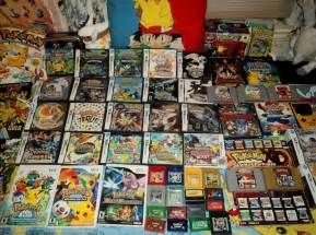 pokemon video game collection photo
