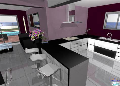 bar separation cuisine ensemble salle de bain leroy galerie avec bar de
