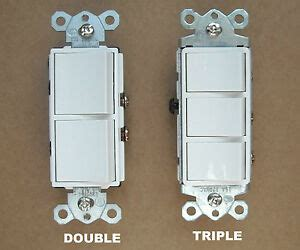 Stacked A Dual Switch Wiring by Decora Rocker Wall Combination Stack