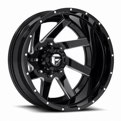 Dually Fuel Renegade Wheels D265 Rear Rims