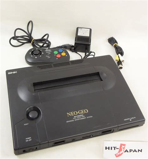 neogeo console neo geo aes console system ref 72830 5 digits tested japan