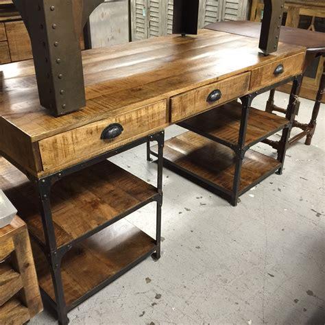 wood and iron desk iron and wood desk nadeau nashville