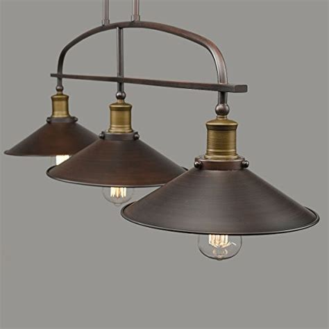 yobo lighting antique kitchen island pendant 3 light