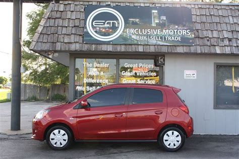 Mitsubishi Of Omaha by 2015 Mitsubishi Mirage De 4dr Hatchback Cvt In Omaha Ne