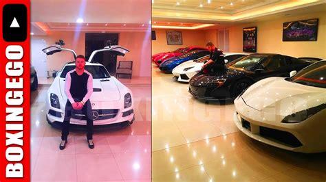 canelo alvarez stuntin   haters shows sick car