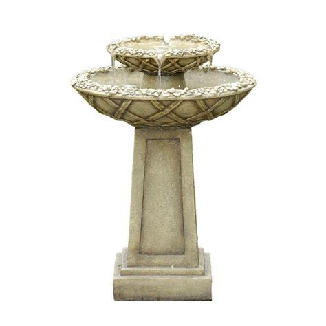 fountain cellar bird bath outdoor water fountain fcl057