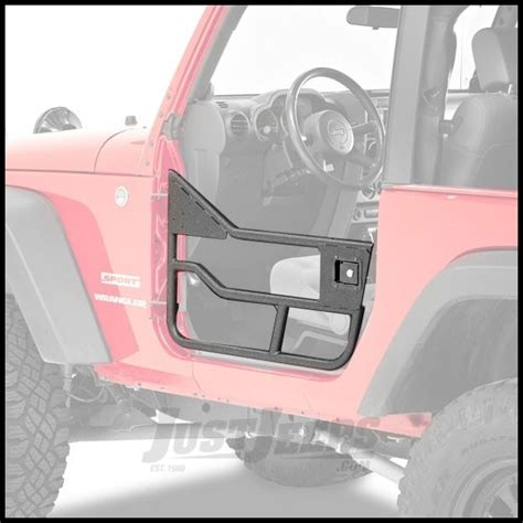 matte black jeep 2 door just jeeps buy bestop highrock 4x4 element doors front set
