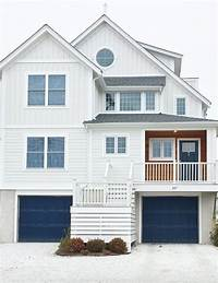 exterior paint color ideas New England Homes- Exterior Paint Color Ideas - Nesting With Grace