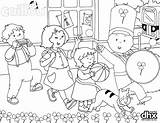 St Parade Caillou Patricks Coloring Pages Patrick Dhx Pig Peppa Snoopy Celebrate Colouring Printable Sheets Printables Disegni Colorare Da sketch template