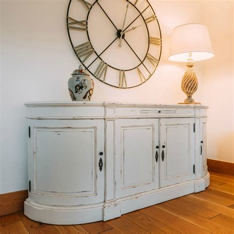 Sideboard Furniture by Aged Distressed White Large Sideboard Furniture