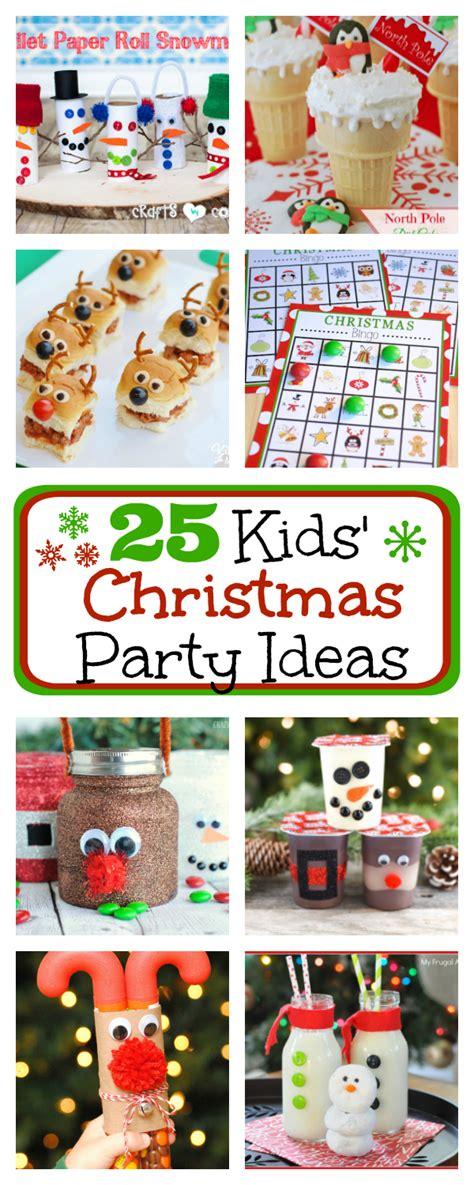 kids christmas party ideas   pinterest