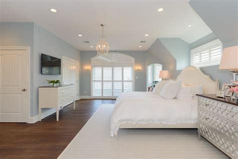 benjamin moore smoke bedroom transitional  white
