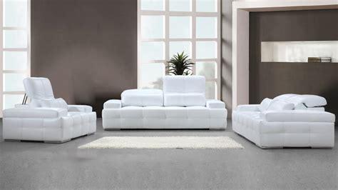 canapes modernes photos canapé blanc moderne
