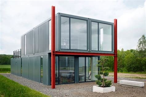Container Anbau An Haus by Shipping Container House Koma Modular Construction