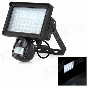 Tvl auto flood light motion activated pir security