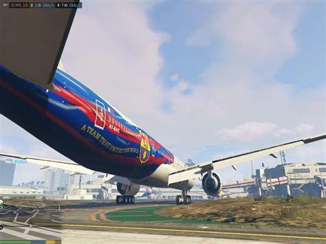 boeing 777 300er sieges boeing 777 300er qatar fc barcelona livery gta5 mods com