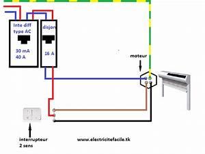 Branchement Volet Roulant électrique : sch ma de raccordement volet roulant lectrique electric ~ Melissatoandfro.com Idées de Décoration