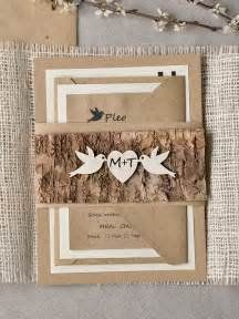 rustic wedding invitations mod finds rustic chic wedding invitations modwedding