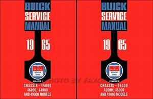 1965 Buick Cd Repair Shop Manual  Body Manual   U0026 Parts Illustrations