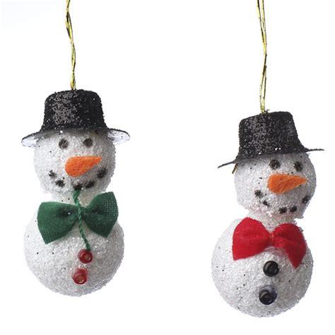 amazoncom snowman christmas miniature snowman ornaments ornaments