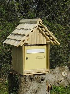 Boite Aux Lettres Normalisée : boite aux lettres en bois ~ Dailycaller-alerts.com Idées de Décoration