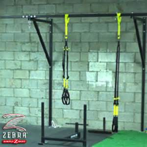 wall mount system for suspension trainers landmark athletics