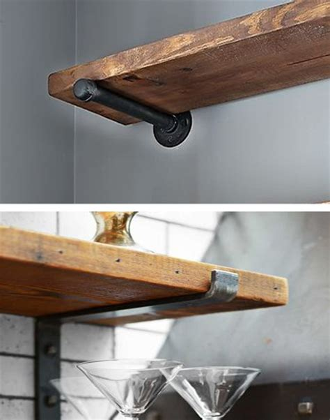 home dzine home diy easy shelf ideas    diy