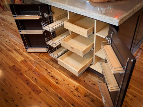 Custom Diy Pull Out Shelves For Kitchen Cabinet Made From