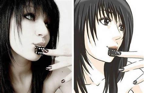 Anime In Real Anime Vs Realidad Marcianos