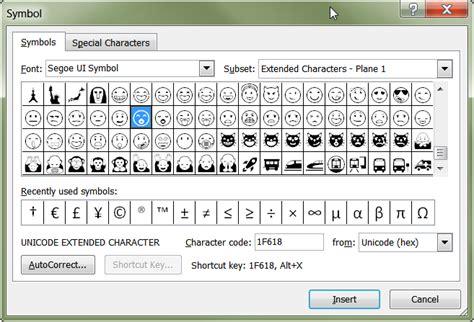 microsoft outlook     emoticons  windows