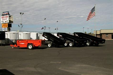 fix  hydraulic dump trailer system felling trailers