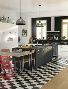 Ilots Central Cuisine : cuisine lot central 12 photos de cuisinistes c t maison ~ Melissatoandfro.com Idées de Décoration