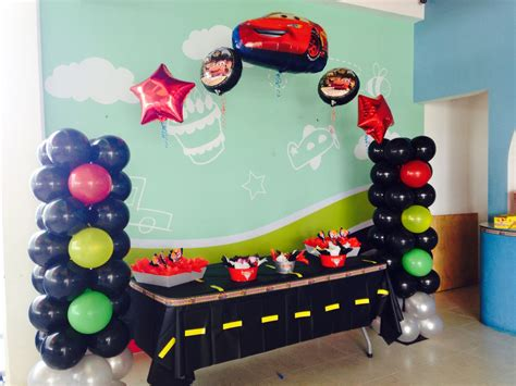 Cars Balloons Arch, Cars Balloon Decorations, Cars Party
